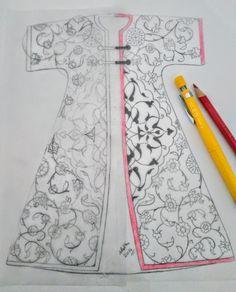 Turkish Art, Turkish Tiles, Beaded Embroidery, Embroidery Designs, Illumination Art, Arabesque Pattern, Illustration Techniques, Color Pencil Art, Panel Art