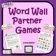 New Games for Your Word Wall  Hi Teaching Friends! We're always on the hunt for new ideas to keep our students engaged with the words on our classroom word wall. You too? Try these two games! They'll be a big help in building that familiarity with the wall that young writers need to make it a truly useful tool!  Happy Teaching!  PreK--2 Primary Inspiration by Linda Nelson sight words word games word wall