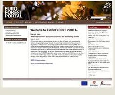 EUROFOREST Portal is a gateway to forest information in Europe Portal