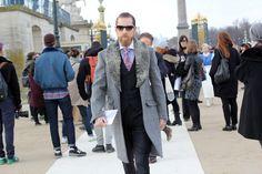 #justinoshea #men #paris #adletfashion