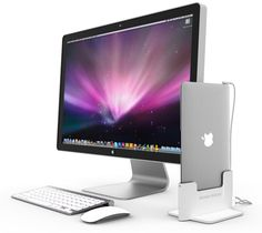 """Want this so bad (but i need the monitor, the dock, and a macbook air) ;) Docking station for your 11"""" and 13"""" macbook air for $55."""