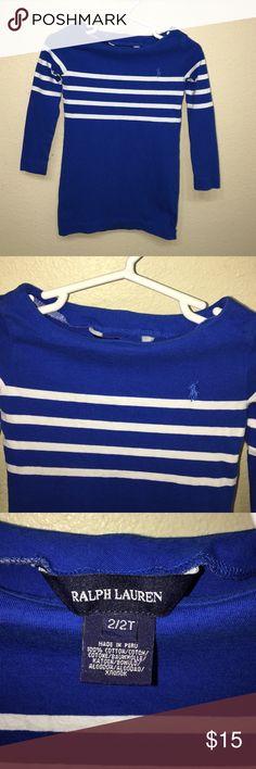 Baby girls Ralph Lauren long tee shirt sz 2T Great Condition Baby girls Ralph Lauren long tee shirt sz 2T Ralph Lauren Shirts & Tops Tees - Long Sleeve