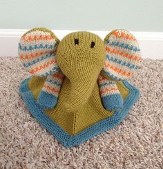 Ravelry: ChristinaPurls Blanket Buddy for Baby Gerbers