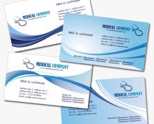 Medical Business Cards: 4 Useful PSD Templates