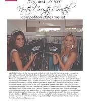 Miss North County Coastal Pageant | IN THE PRESS -