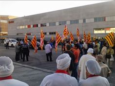 Apoyo a los trabajadores de Pastas Gallo en la huelga contra despidos