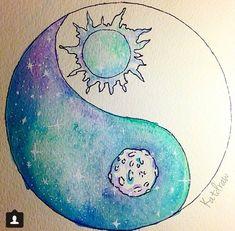 Yin y Yan, versión cometa y sol