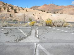 parking lot #2 = near the Desert Research Institute - north of Reno, Nevada - September 29, 2014