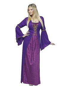 Medieval Miss Adult Womens Costume - Spirithalloween.com