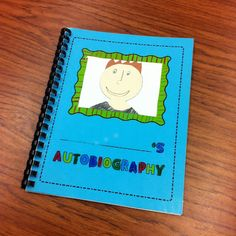 Autobiographies - what a great writing activity for the end of the year to teach a different genre!