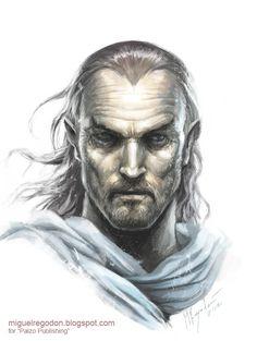 Daran Edermath,  Villager Ex-adventurer  Member Order of the Gauntlet