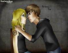 """""""Be brave, Tris. The first time is always the hardest.""""- Four, P. 232, """"Divergent."""""""