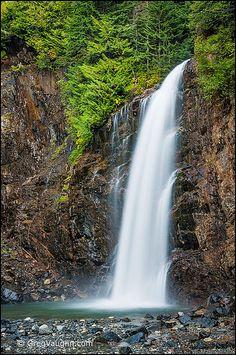 Franklin Falls - Cascade Mountains, Washington