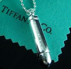 Bullet necklace and it's from Tiffany perfect for vampires, lol