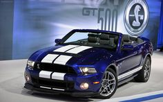 2013 Shelby GT500 Mustang Convertible