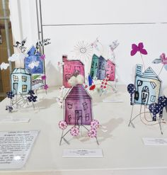 Lynn Walters - 'Made with Love' exhibition 2014 Building Structure, Love S, Buildings, Mixed Media, Textiles, Houses, Passion, Gallery, Crafts