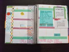 The Wheelhouse: Weekly Erin Condren Life Planner Spread