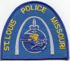 St. Louis Missouri Police Department Patch Sheriff Law Uniform Collectible NEW