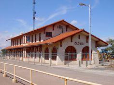 old Santa Fe Depot; Clovis, New Mexico