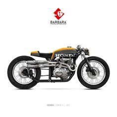 HONDA CB400 N - BEEBarbara Custom Motorcycles - Photoshop Preparations https://www.facebook.com/barbara.motorcycles/ #BarbaraMotorcycles #Preparations #prepa #motorcycles #custom #moto #bikes #Honda #HondaCB400N #CafeRacer #barbaramotorcycles #Paris...