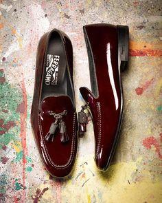 Patent-leather tassel loafers by Salvatore Ferragamo ($1,250)