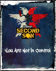 Infamous Second Son Denim Design Fan Art by SpiritoftheGardens