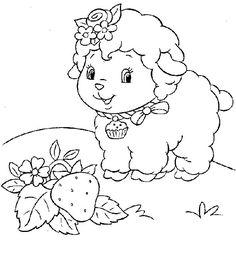 Disegni pecore da colorare (7)