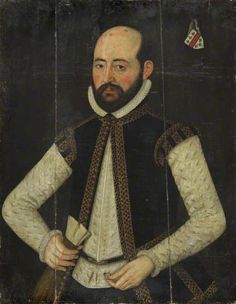 Richard Barrey (d.1588) by British (English) School Collection: National Maritime Museum