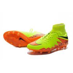 New Shoes Nike HyperVenom Phantom II FG Football Cleats Yellow Black Orange 569eb862f445f