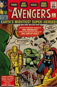 The Avengers #1 - Alternate Comic Book Cover  @Rachael Zubal-Ruggieri: OMG