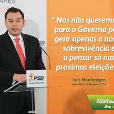 Luís Montenegro, Líder Parlamentar do PSD, nas Jornadas Parlamentares do Partido Social Democrata #PSD #acimadetudoportugal