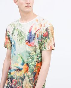 Image 4 of PRINTED T-SHIRT from Zara