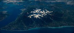 The entire Olympic Peninsula, as seen from the ISS. Image via NASA