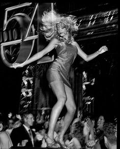 A Dancing Queen in action, at Studio 54.