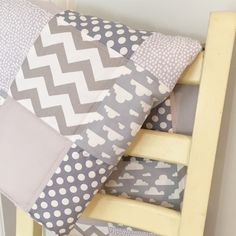 A personal favourite from my Etsy shop https://www.etsy.com/uk/listing/470305463/grey-clouds-patchwork-baby-blanket-quilt