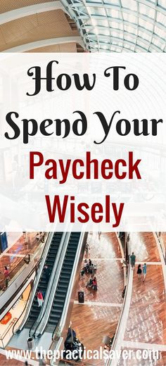 Ever wonder why your paycheck seems to not last very long? Do you know what's eating up your paycheck? A lot of people aren't able to spend their paycheck wisely for a lot of reasons. Find out what the reasons are and how to spend your paycheck wisely. #paycheck #wise #spending