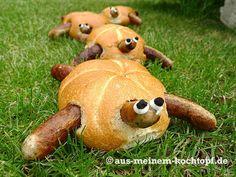 Nürnberger Bratwurst Schildkröten - Aus meinem Kochtopf
