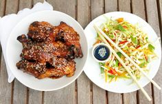 Zdravé recepty: Paleo, Whole30, Primal, LCHF, bez lepku Low Fodmap, Low Carb, Lchf, Keto, Paleo Whole 30, Whole30, Chicken Wings, Cooking, Ethnic Recipes