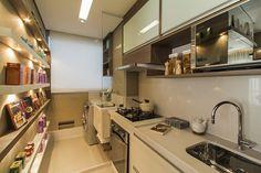Cozinha do apartamento de 2 dormitórios do Follow