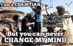 Yes this is reality! We need to pray for all Christians and our enemies!