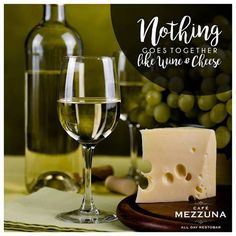 Bring in the weekend with the finest of wines and chunks of creamy cheese at #CafeMezzuna #ForumCourtyard — eating lunch with friends at Forum Courtyard.