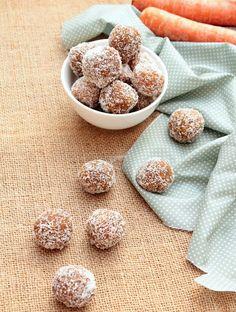 Nem acredito que é saudável!: Bolinhas de cenoura e amêndoa (vegan, sem açúcar, sem glúten) . Carrot almond balls (vegan, sugar free, gluten-free)