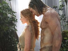 The Alexander Skarsgard Library - First look at Alex and Margot Robbie in The Legend of Tarzan