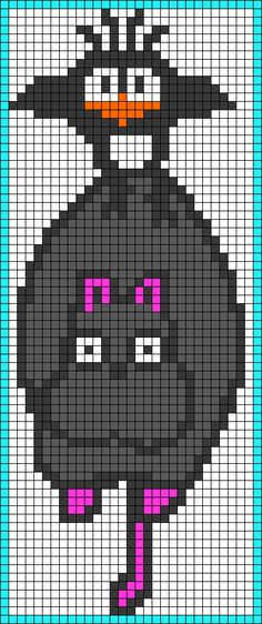 New Knitting Charts Birds Perler Beads Ideas Beaded Cross Stitch, Cross Stitch Embroidery, Cross Stitch Patterns, Totoro, Hama Beads Patterns, Beading Patterns, Bead Studio, Peler Beads, Pixel Pattern