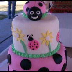 Cute cake for a little girls Birthday