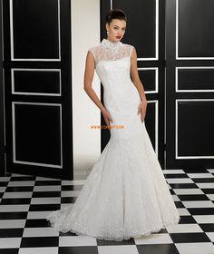 a134ebd4afeca7 Trompet zeemeermin Kapel Sleep Glamoureuze   Dramatische Trouwjurken 2014  Inexpensive Wedding Dresses