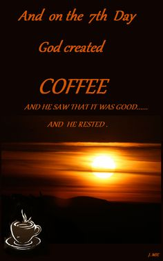 And He rested.....