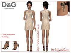 Sims2City: D&G.Summer 2016: sparkling night. Outfits, jewerly & Catwalk…