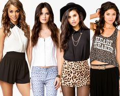 Forever 21 outfits... Love the 1st and 2nd outfits the most