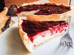 receta de tarta fría de queso quark